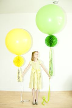 Went to an adult birthday party that had these Geronimo balloons as decorations last night.  They are FABULOUS!  What kid wouldn't want giant balloons for any occasion???