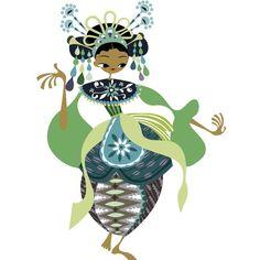 Betawi dancer / penari betawide Asa Gilland Soeprapto
