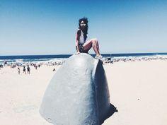 Escultura La Mano Praia Brava, Punta Del Este - travel blog - dicas de viagem de cruzeiro - Heleza Valenza - sereia - trip - traveler - Uruguai - Uruguay - dicas de viagem - travel tip