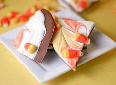 Candy corn bark by cookbookqueen,