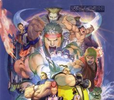 SF20Th - The Art of Street Fighter Parte 2 - Taringa!
