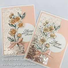 Video Tutorial: Forever Blossoms card with Markering and Sponging techniques (Linda Dalke) Video Tutorial: Forever Blossoms card with Markering and Sponging techniques Paris Cards, Stamping Up Cards, Rubber Stamping, Anniversary Cards, Happy Anniversary, Flower Cards, Birthday Cards, Birthday Images, Birthday Quotes