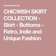 CHICWISH SKIRT COLLECTION - Skirt - Bottoms - Retro, Indie and Unique Fashion