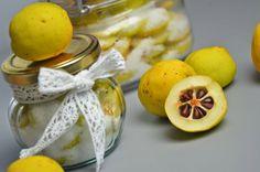Apetyczna babeczka: Pigwa, Polska cytryna do herbaty