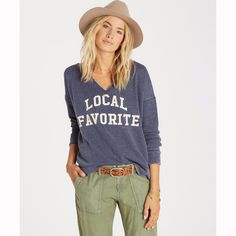 Image result for local favorite sweatshirt billabong