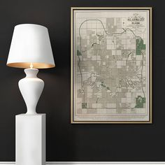 Oklahoma City Map Oklahoma Old Map Old Maps Antique Maps