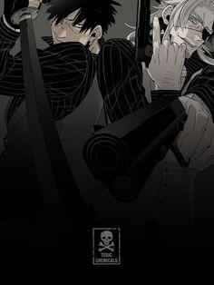 「【宣伝】アニメ」/「コースケ」のイラスト [pixiv] Gangsta