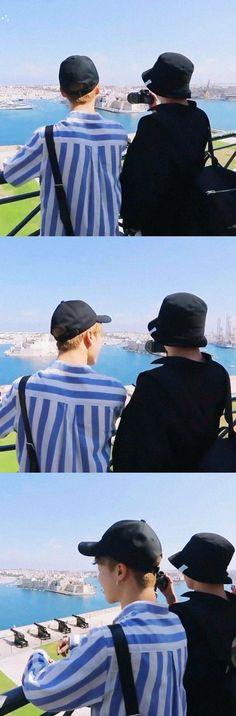#JIKOOK BON VOYAGE S3 Ep.3 // (A night in Valletta with full of friendship Jikook, Jimin Jungkook, Bts Behind The Scene, Bts Bon Voyage, Intense Love, Korean K Pop, Army Love, National Treasure, Bulletproof Boy Scouts