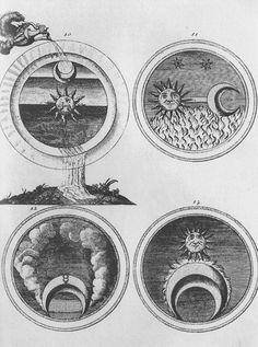 sun moon seasons alchemy / Sacred Geometry <3