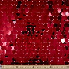 Sequin Collection #9 Fabric Red  Spotlight $20.99/m