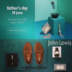 @johnlewisretail Father's day. Shop top gifts for your father because he is really rather brilliant! Go to our website, click on the #johnlewis banner and shop according his style! #ootd #fashion #instafashion #style #fashionista #instastyle...
