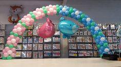 Sempertex Europe - Baby - Dimensionals - Bear - Betallic - Balloon - Arch