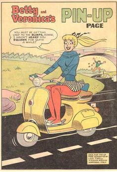 Betty and Veronica comic