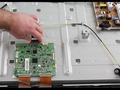 Samsung LED TV Repair - T-Con Board Replacement - No Picture on Screen, ...