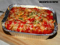 Gnocchi cu sos de rosii - Bucataria cu noroc Noroc, Gnocchi, Lasagna, Ethnic Recipes, Lasagne