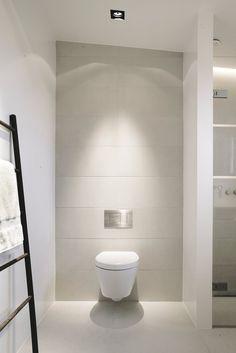 Scandinavian bathroom. Copenhagen Penthouse I by Norm.Architects.