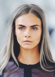 #HAIRtrends  Cara WHO? 50 shades of Grey or Cara?