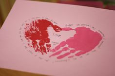 Homemade Valentine cards for kids. i think the kids will make these for daddy