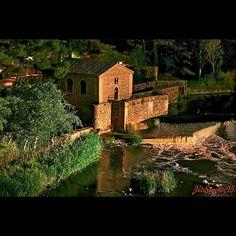 Antigua central hidroeléctrica Santa Ana. #Toledo #igerstoledo #igersclm