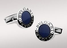 Bvlgari cufflinks for the groom who has it all.