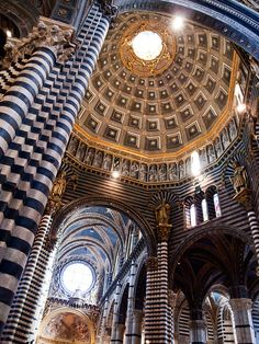 Dome, Siena. You cannot image how massive this dome is until you see it!
