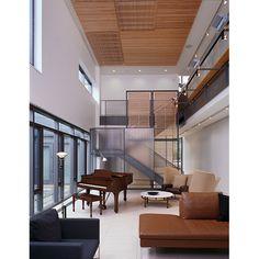 Pritzker house interior