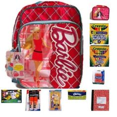 Great travel bag has all the kids need to keep busy on the journey. Barbie Backpack Bundle