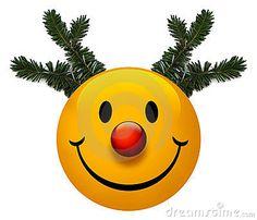 Smiley Holiday Icon ~                               by Billy Alexander, via Dreamstime