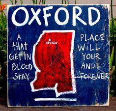 OLE MISS -OXFORD