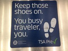 Sign Up For TSA Precheck or Global Entry