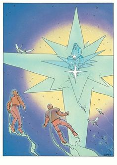 #moebius #jean giraud #illustration