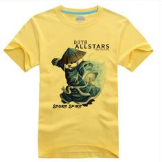 DOTA 2 Storm Spirit t shirt Defense of ancients heroes tee ...