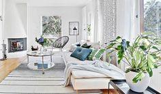 瑞典 38 坪白色系植栽光宅 - DECOmyplace 新聞
