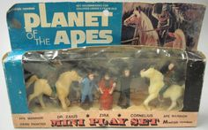 1974 Planet of the Apes Mini Play Set