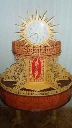 """Часы """"Солнце"""""""