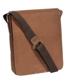 0092cfba53 Real Leather Cross Body Organiser Messenger Shoulder Bag HOL784 Brown -- To  view further for