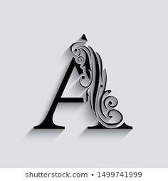 Letter H Design, Monogram Design, Alphabet Letters Images, Letter Art, Fancy Letters, Monogram Letters, Cool Pictures For Wallpaper, Tattoo Lettering Fonts, Typography