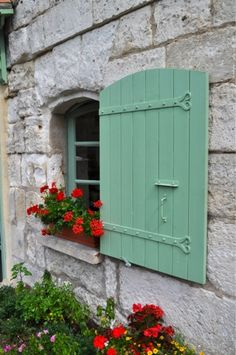 lovely window with flower box