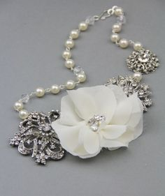 Wedding necklace ... possibly a family heirloom later :))
