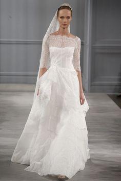 Monique Lhuillier Spring 2014 Bridal Collection | Tom & Lorenzo