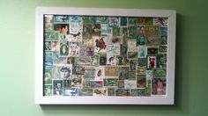 postage stamp art