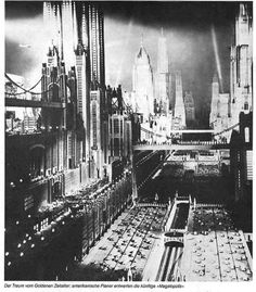 F. Muijca, The city of the future, 1928