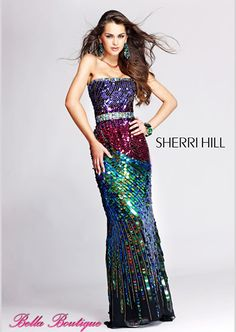 Moda festa: Sherri Hill - Cena Fashion