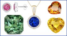 THE DELIGHTFUL COLORS OF SAPPHIRE