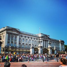 Buckingham Palace You have to go!  You just do!  If the flag is flying overhead the Queen is in residence.