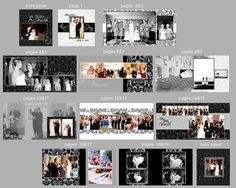 0373 12x12 Wedding Book Photoshop Template by rememberwhendesign, $25.00