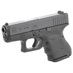 $529.99 GLOCK 26 9mm Safe-Action Pistol has afer market finger extenders to clip