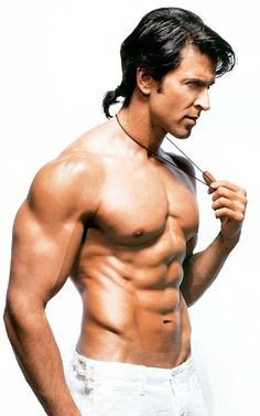 Bollywood Bioscope Wishing Hritik Roshan Happy Birthday, Hope This Year He Will Get Someone Special Who Take Care of Him After Susan Khan. Human Poses Reference, Body Reference, Muscle Hunks, Muscle Men, Male Fitness Models, Anatomy Poses, Fit Black Women, Cool Hairstyles For Men, Male Torso