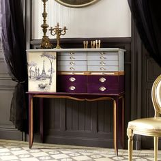 Bohemian Paris Solicitor Cabinet