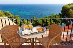 Desayuno en Park Hotel San Jorge, Gerona. Más info: http://www.hoteles-silken.com/hoteles/park-hotel-san-jorge-platja-d-aro/restaurantes/